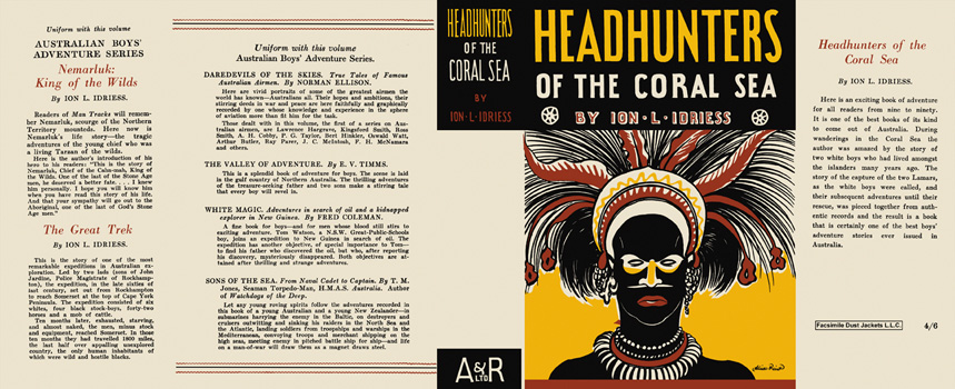 Headhunters of the Coral Sea. Ion L. Idriess