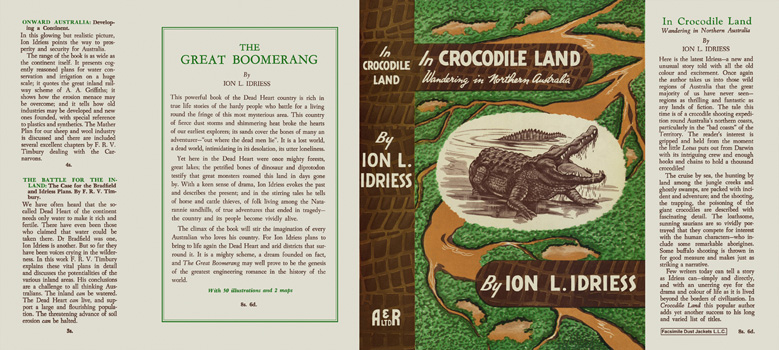 In Crocodile Land. Ion L. Idriess