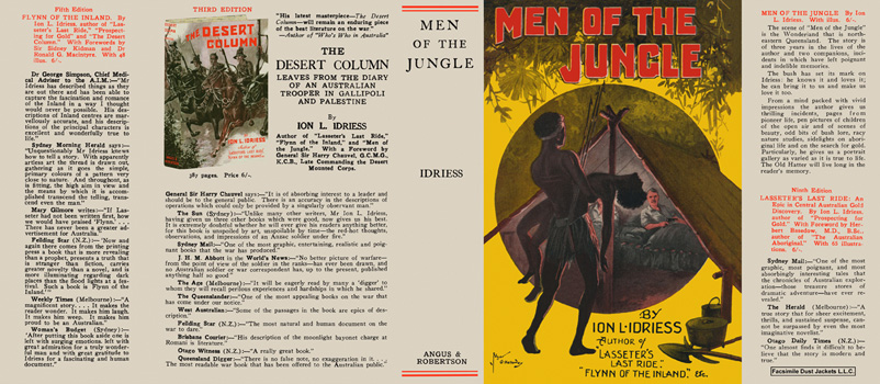 Men of the Jungle. Ion L. Idriess.