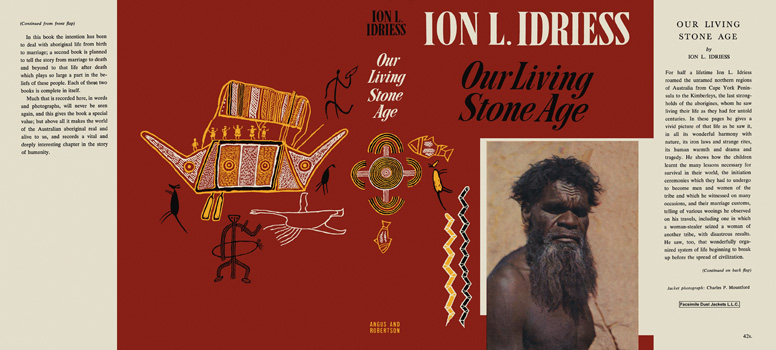 Our Living Stone Age. Ion L. Idriess.