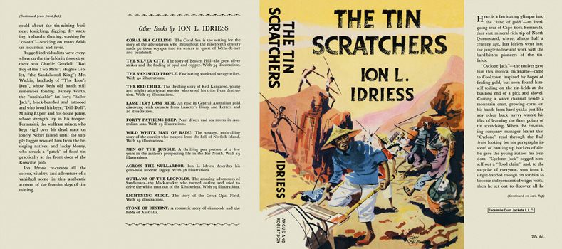 Tin Scratchers, The. Ion L. Idriess.