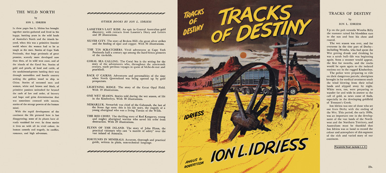 Tracks of Destiny. Ion L. Idriess.