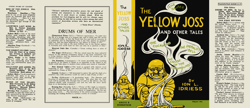 Yellow Joss and Other Tales, The. Ion L. Idriess