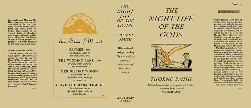 Night Life of the Gods, The. Thorne Smith