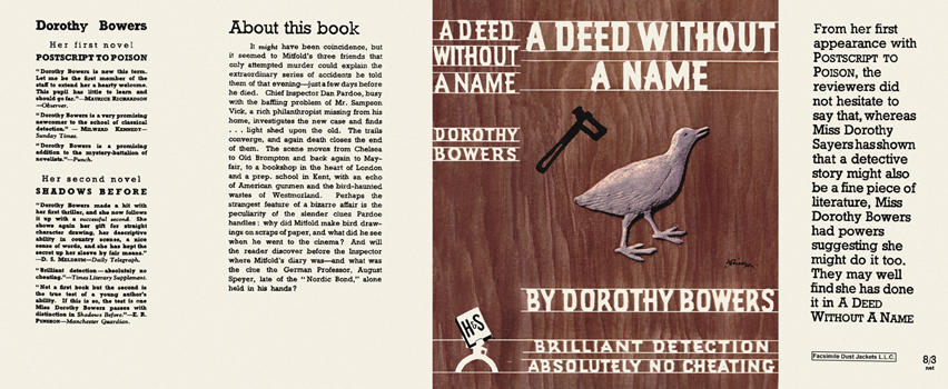 Deed Without a Name, A. Dorothy Bowers.