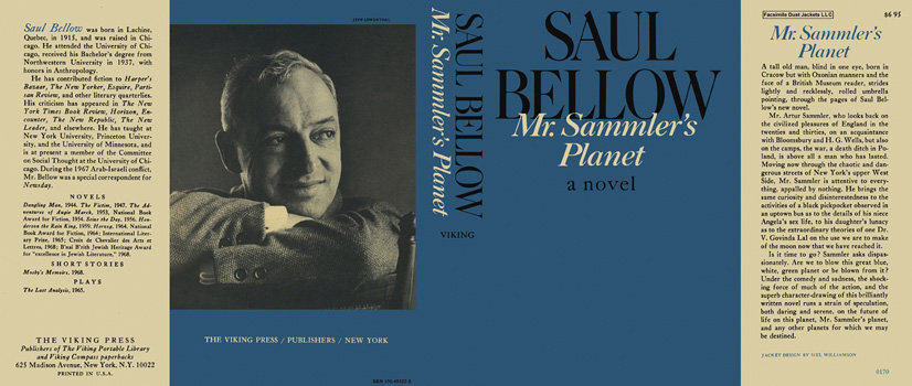 Mr. Sammler's Planet. Saul Bellow