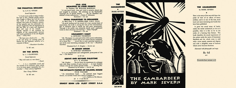 Gambardier, The. Mark Severn