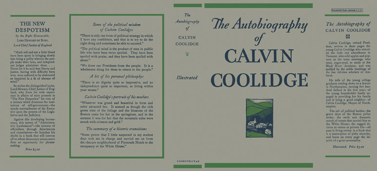 Autobiography of Calvin Coolidge, The. Calvin Coolidge