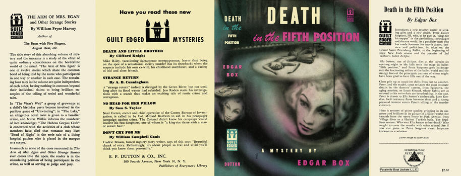 Death in the Fifth Position. Edgar Box.