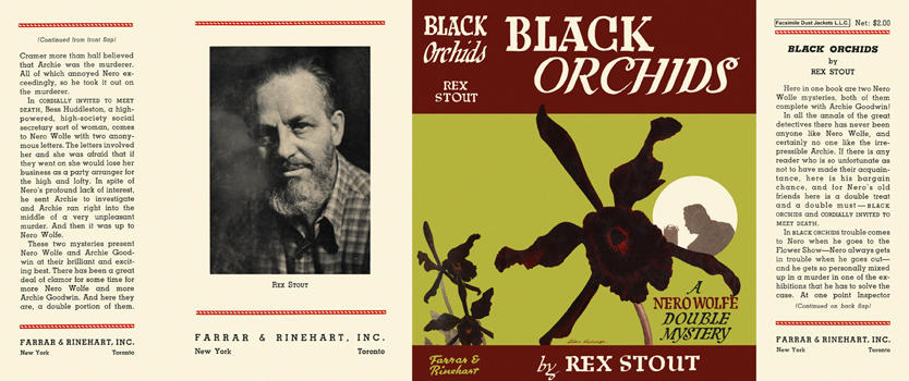 Black Orchids. Rex Stout