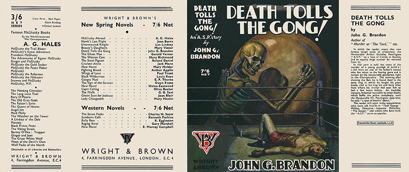 Death Tolls the Gong! John G. Brandon