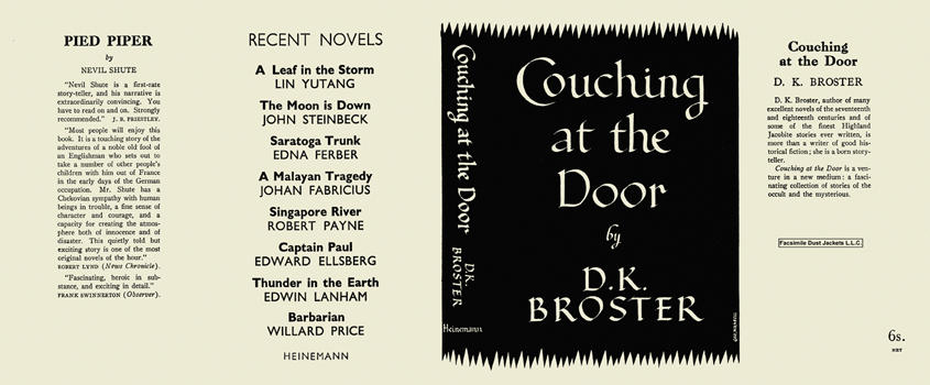 Couching at the Door. D. K. Broster.
