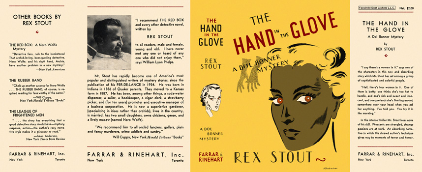 Hand in the Glove, The. Rex Stout