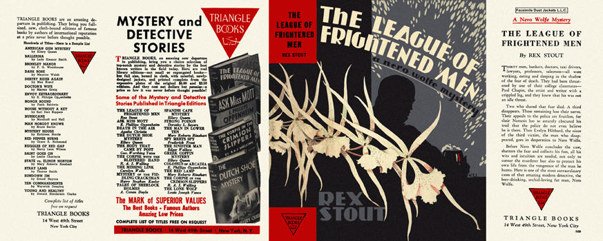 League of Frightened Men, The. Rex Stout