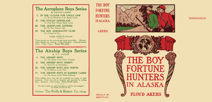 Boy Fortune Hunters in Alaska, The. Floyd Akers.