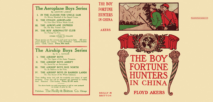 Boy Fortune Hunters in China, The. Floyd Akers, L. Frank Baum
