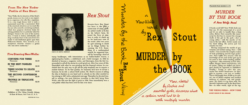 Murder by the Book. Rex Stout.