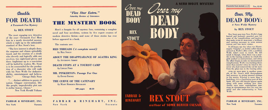 Over My Dead Body. Rex Stout