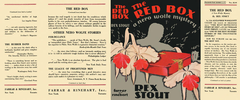Red Box, The. Rex Stout.
