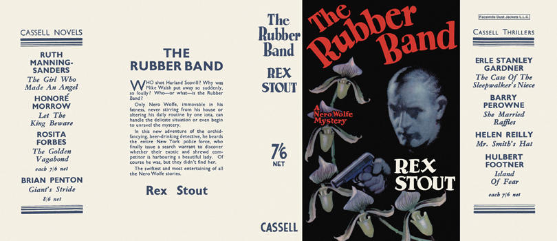 Rubber Band, The. Rex Stout.