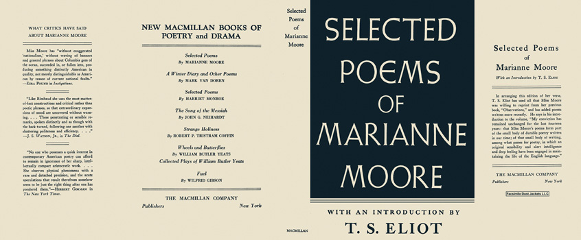 Selected Poems of Marianne Moore. Marianne Moore.