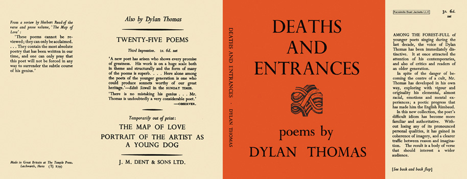 Deaths and Entrances. Dylan Thomas