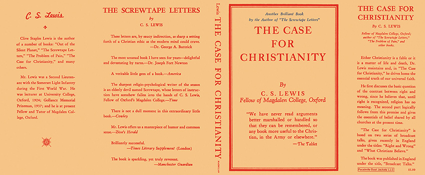 Case for Christianity, The. C. S. Lewis.