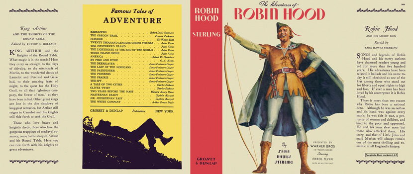 Adventures of Robin Hood, The. Sara Hawks Sterling