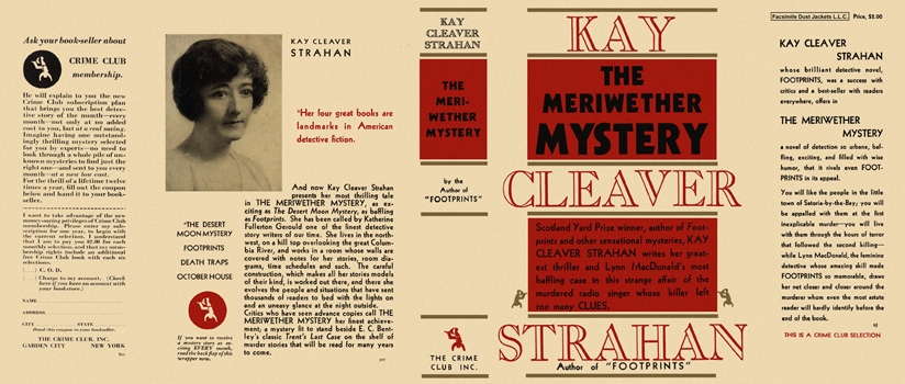 Meriwether Mystery, The. Kay Cleaver Strahan