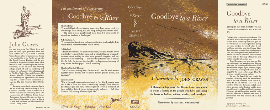 Goodbye to a River. John Graves