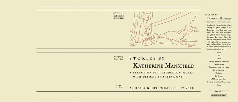 Stories by Katherine Mansfield. Katherine Mansfield