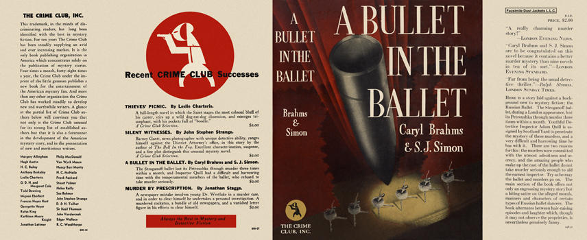 Bullet in the Ballet, A. Caryl Brahms, S. J. Simon.