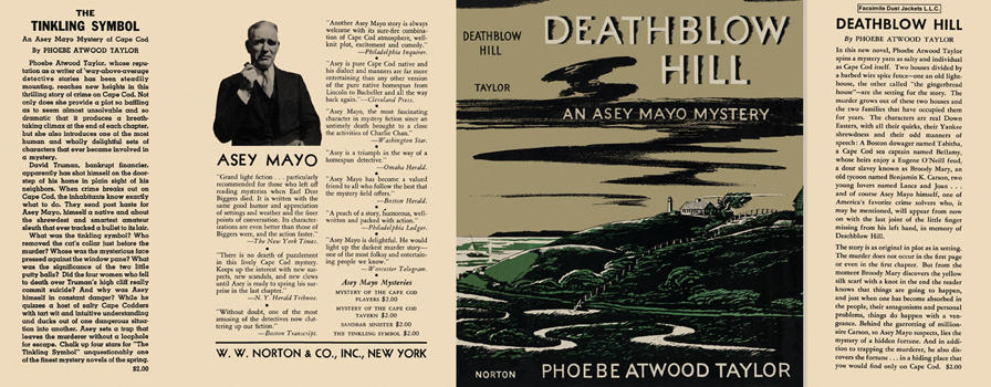 Deathblow Hill. Phoebe Atwood Taylor