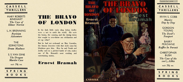 Bravo of London, The. Ernest Bramah.