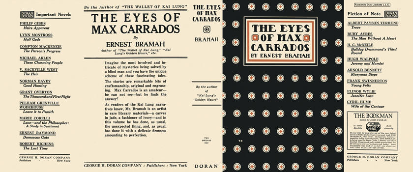 Eyes of Max Carrados, The. Ernest Bramah.