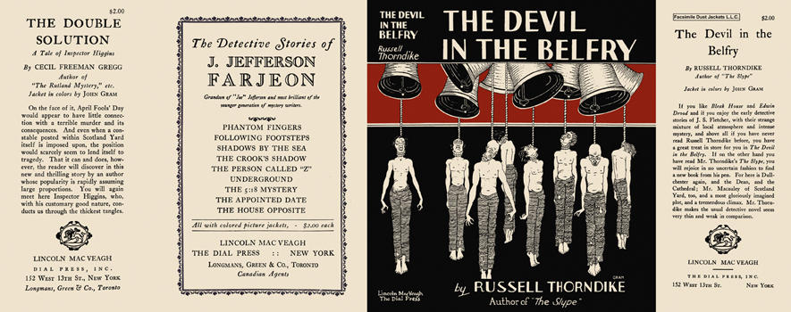 Devil in the Belfry, The. Russell Thorndike.