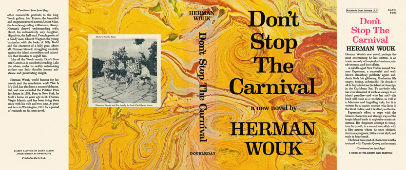 Don't Stop the Carnival. Herman Wouk.
