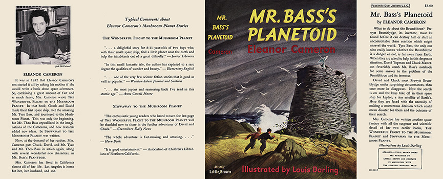 Mr. Bass's Planetoid. Eleanor Cameron, Louis Darling
