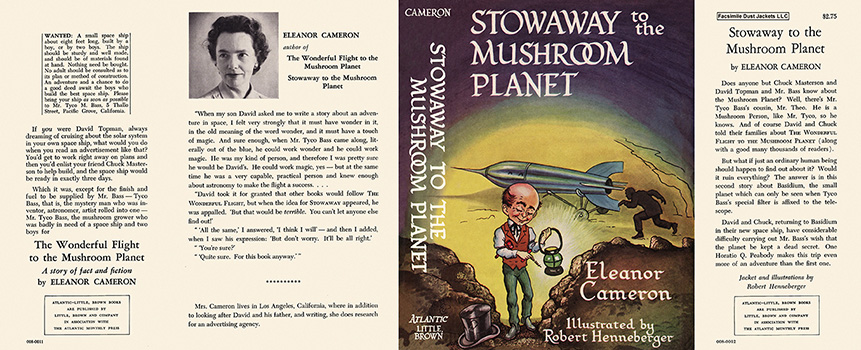 Stowaway to the Mushroom Planet. Eleanor Cameron.
