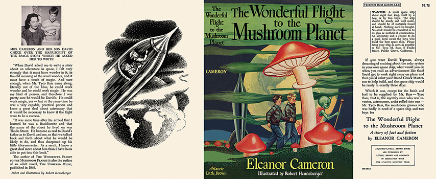 Wonderful Flight to the Mushroom Planet, The. Eleanor Cameron, Robert Henneberger