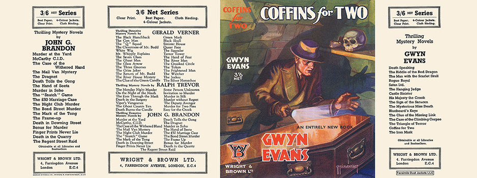 Coffins for Two. Gwyn Evans