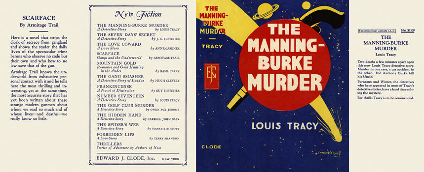 Manning-Burke Murder, The. Louis Tracy.
