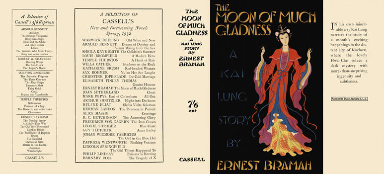 Moon of Much Gladness, The. Ernest Bramah