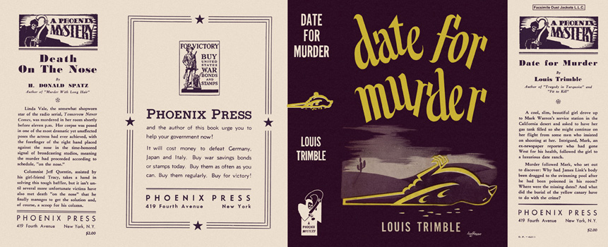 Date for Murder. Louis Trimble.