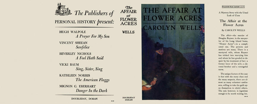 Affair at Flower Acres, The. Carolyn Wells.