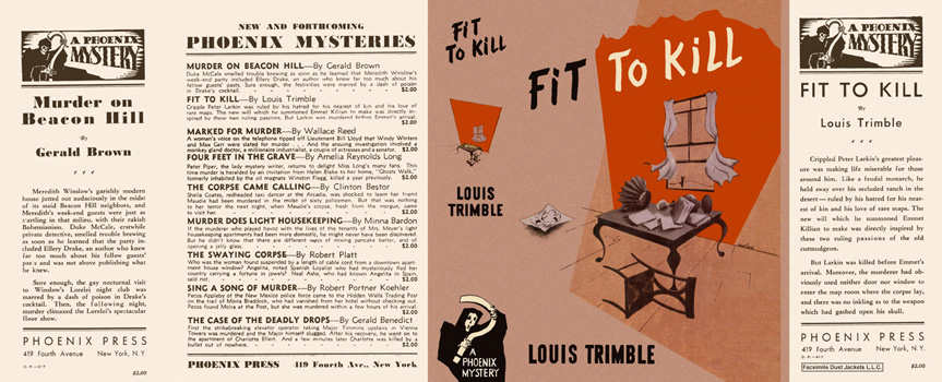 Fit to Kill. Louis Trimble.