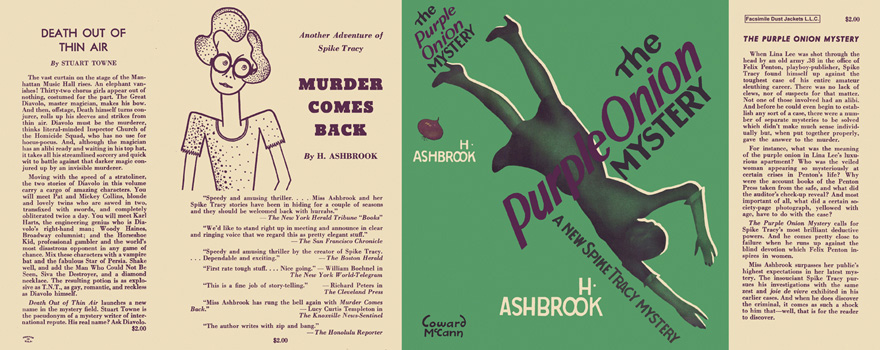 Purple Onion Mystery, The. H. Ashbrook