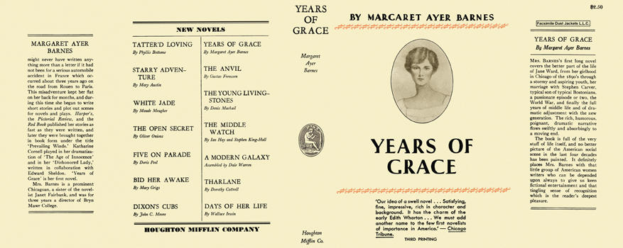 Years of Grace. Margaret Ayer Barnes