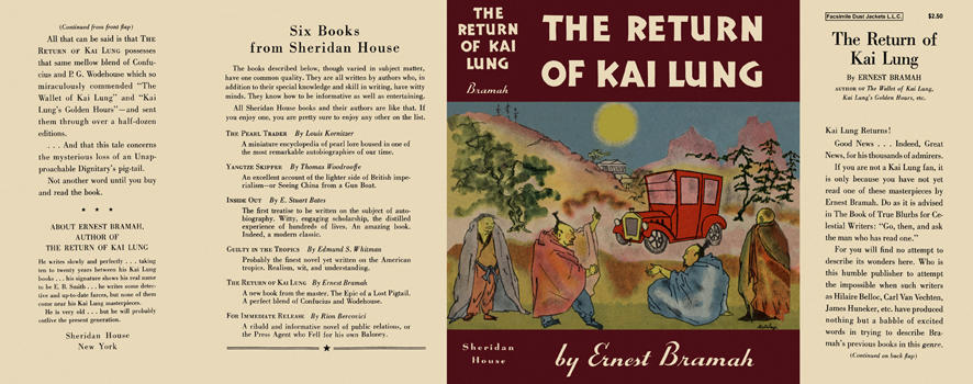 Return of Kai Lung, The. Ernest Bramah