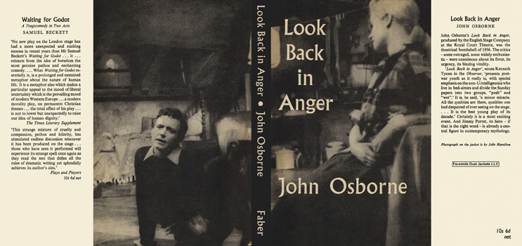 Look Back in Anger. John Osborne